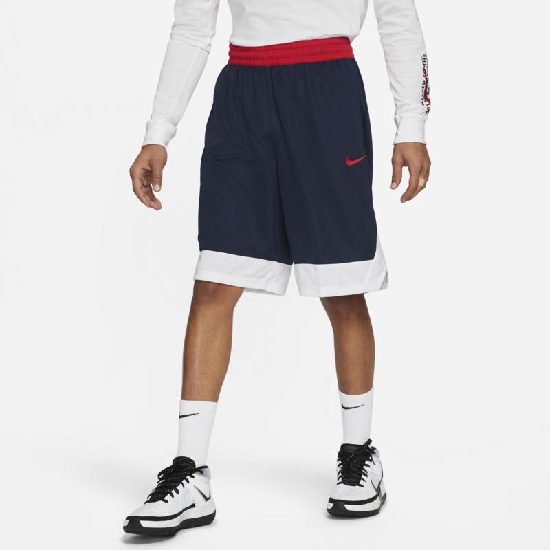 Nike Nike Men's Dri-Fit Basketball Shorts Navy/Red AJ3914 419