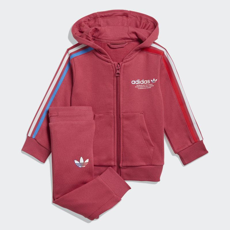 Adidas Adidas Kids ADICOLOR FULL-ZIP HOODIE SET GN7419