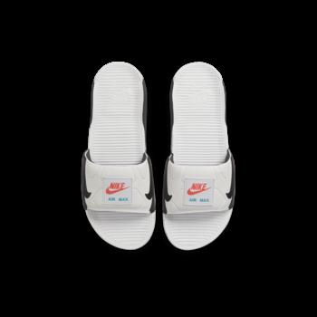 Nike Nike Men's Air Max 90 Slides 'White/Black-Turf Orange' BQ4635 102