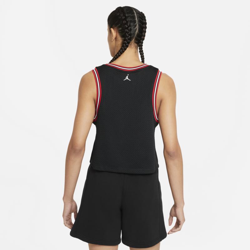 Air Jordan Women's Air Jordan Essentials Jersey 'Black' DD0285 010