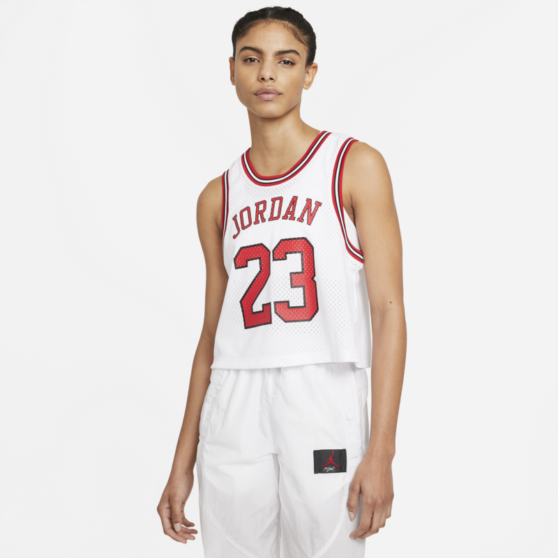 Air Jordan Women's Air Jordan Essentials Jersey 'White' DD0285 100