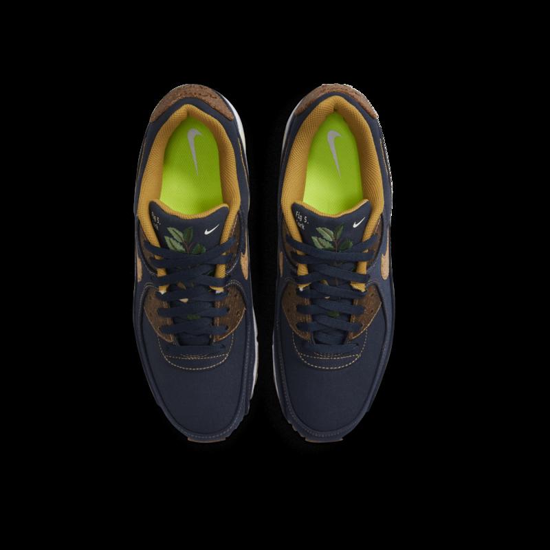 Nike Nike Men's Air Max 90 SE Cork Obsidian/Wheat-Coconut Milk DD0385 400