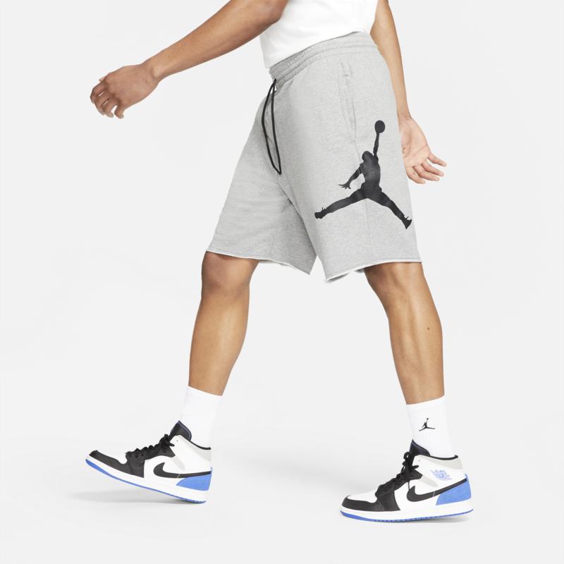 Air Jordan Air Jordan Jumpman Logo Fleece Shorts 'Grey' DB1812 091