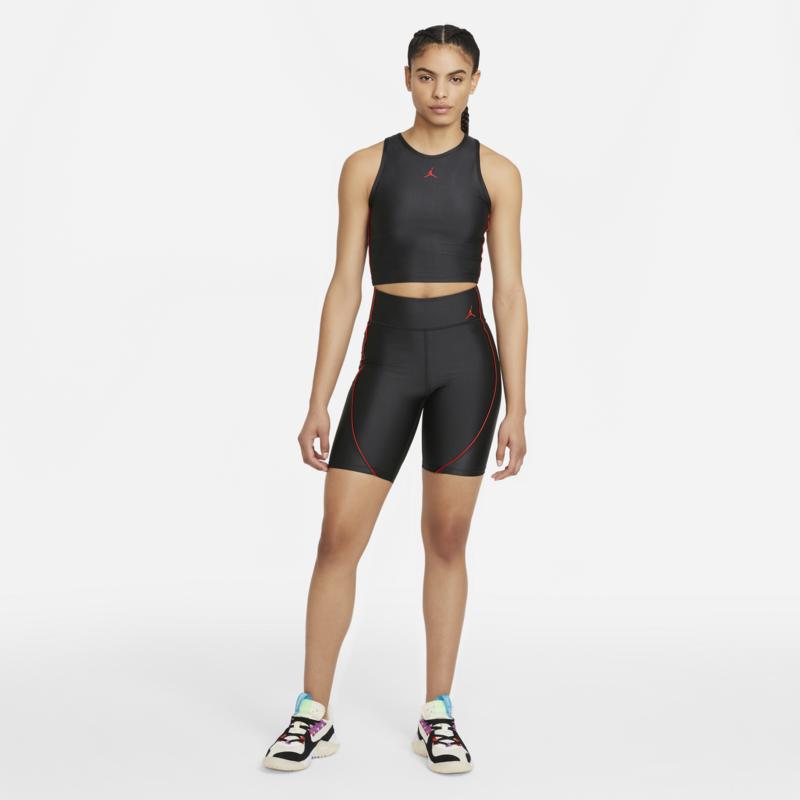 Air Jordan Air Jordan Women's Essential Biker Shorts 'Black/Red' DC2177 010