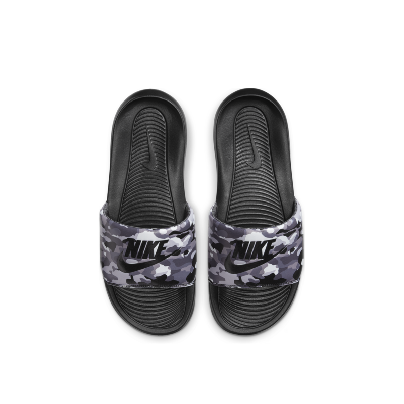 Nike Nike Men's Victori One Slide Print 'Black/Black-Grey Fog' CN9678 001