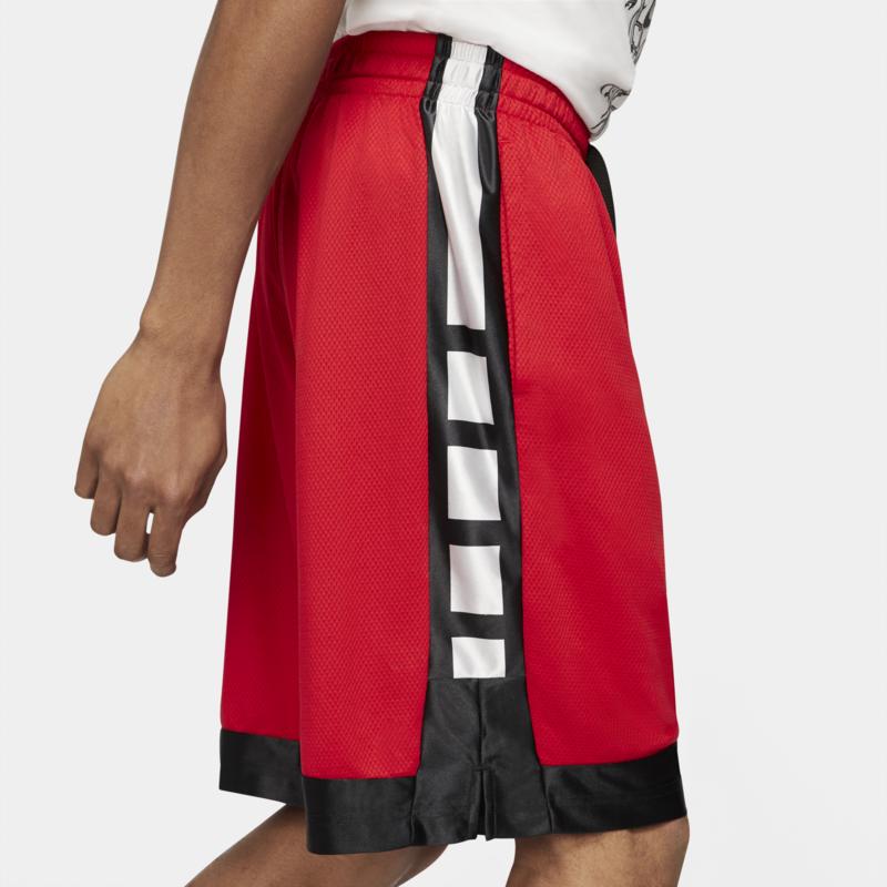 Nike Nike  Men's Dri-FIT Elite Stripe Basketball Shorts 'Red' CV1748 657