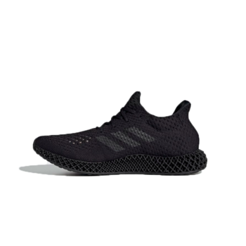 Adidas Adidas Mens 4D Futurecraft Triple Black Q46228