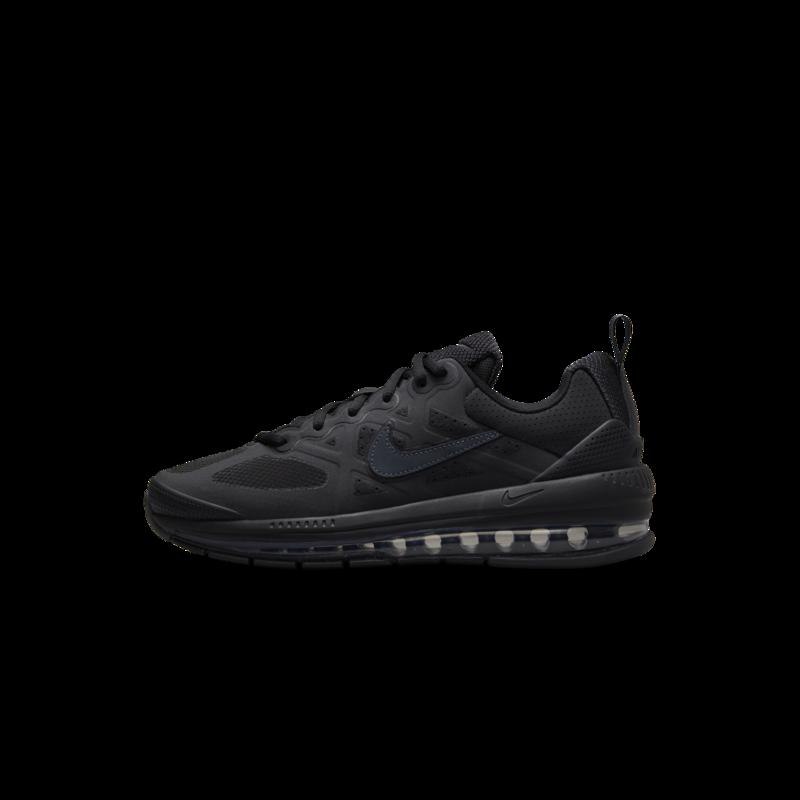 Nike Nike Mens Air Max Genome Triple Black CW1648 001