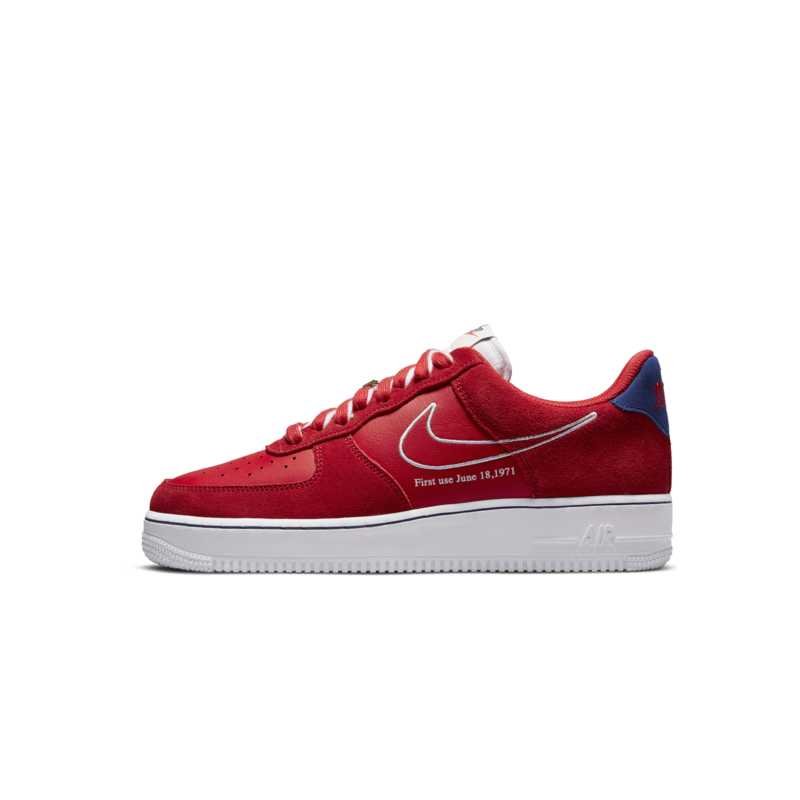 Nike Nike Men's Air Force 1 Low 'First use' University Red/White/Blue DB3597 600