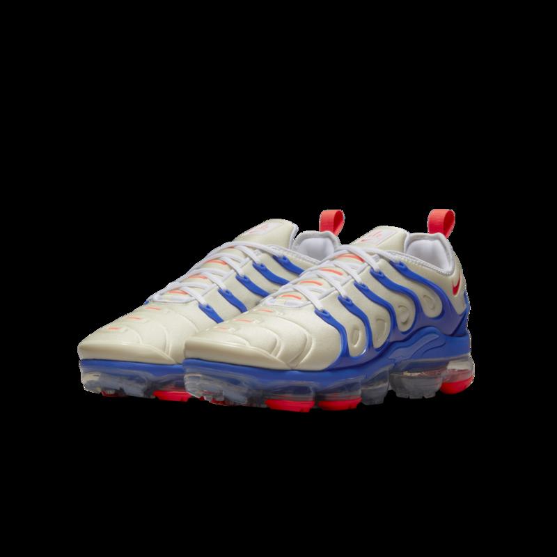 Nike Nike Men's Air Vapormax Plus Coconut Milk/Bright Crimson DM8317 100