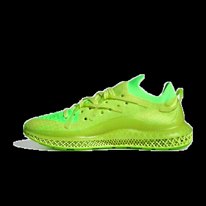 Adidas Adidas Mens 4D Fusio Pulse Yellow/Signal Green H04513