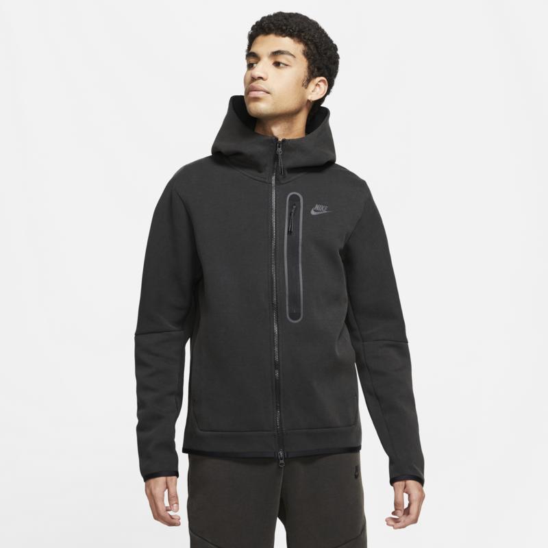 Nike Nike Men's Tech Fleece Washed Jacket 'Black' DD3100 010