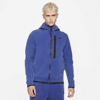 Nike Nike Men's Tech Fleece Washed Jacket 'Deep Royal Blue/Black' DD3100 455