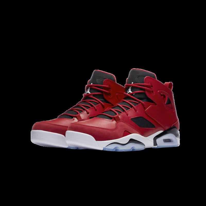 Air Jordan Air Jordan Flightclub '91 Gym Red/White-Black 554475 600