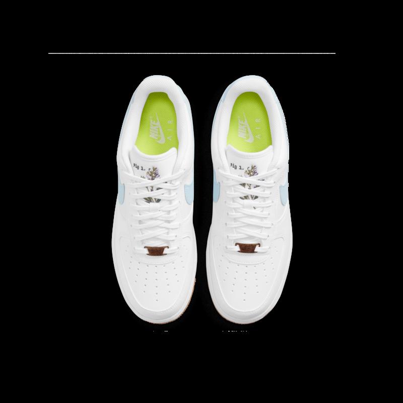 Nike Nike Mens Air Force 1 07 LV8 White/Obsedian CZ0338 100