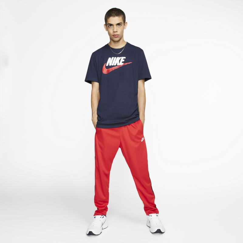 Nike Nike Mens Brand Mark Tee Navy/White/Red AR4993 452
