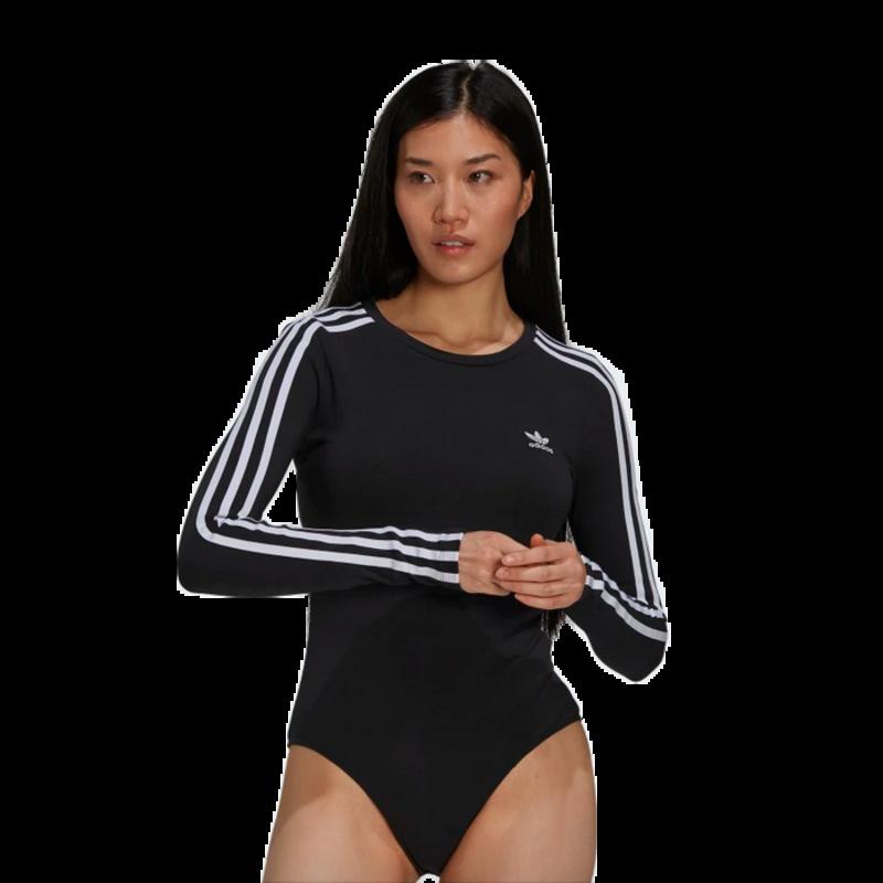 Adidas Adidas Womans Adicolor Classics Bodysuit Black/White H35621