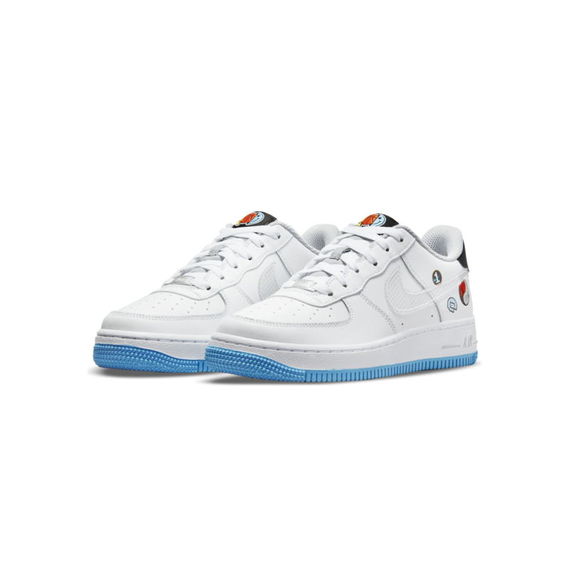 Nike Nike Air Force 1 LV8 1 GS 'White/Multicolor-Wolf Grey' DM8088 100