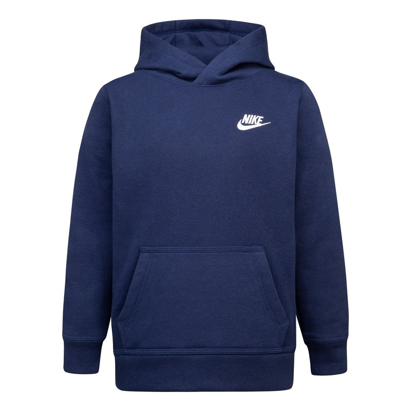 Nike Nike Kids Club PO Hoodie 'Midnight Navy' 86F322 U90