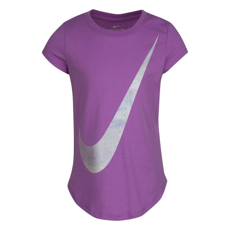 Nike Nike Girls Graphic Tshirt 'Violet Shock' 36I040 P85