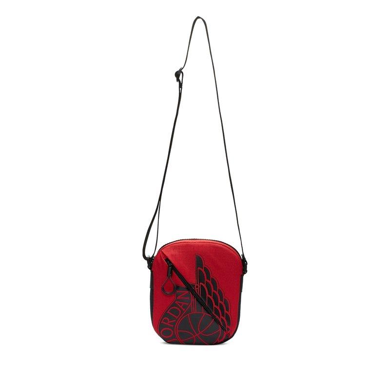 Air Jordan Air Jordan Classic Zip Pocket Bag Red/Black