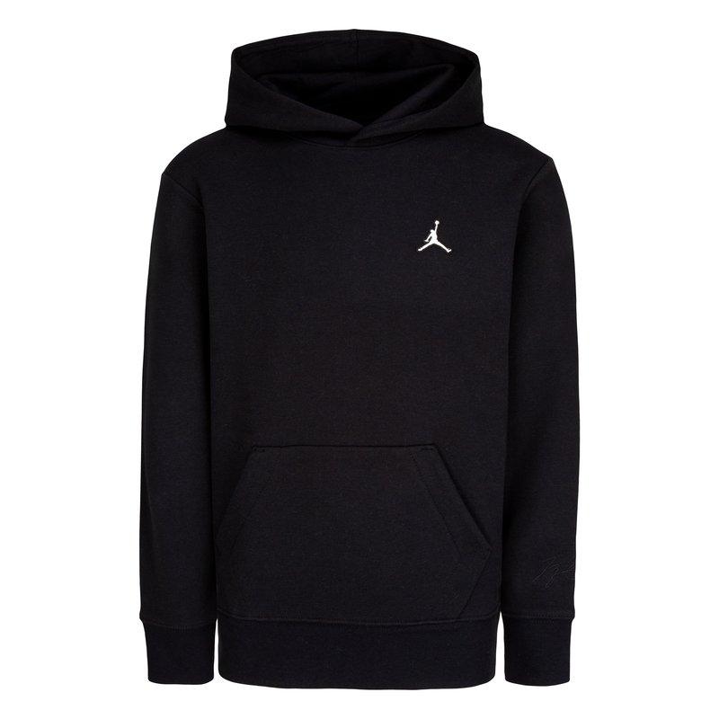 Air Jordan Air Jordan Boys Jumpman PO Hoodie 'Black' 95A715 023