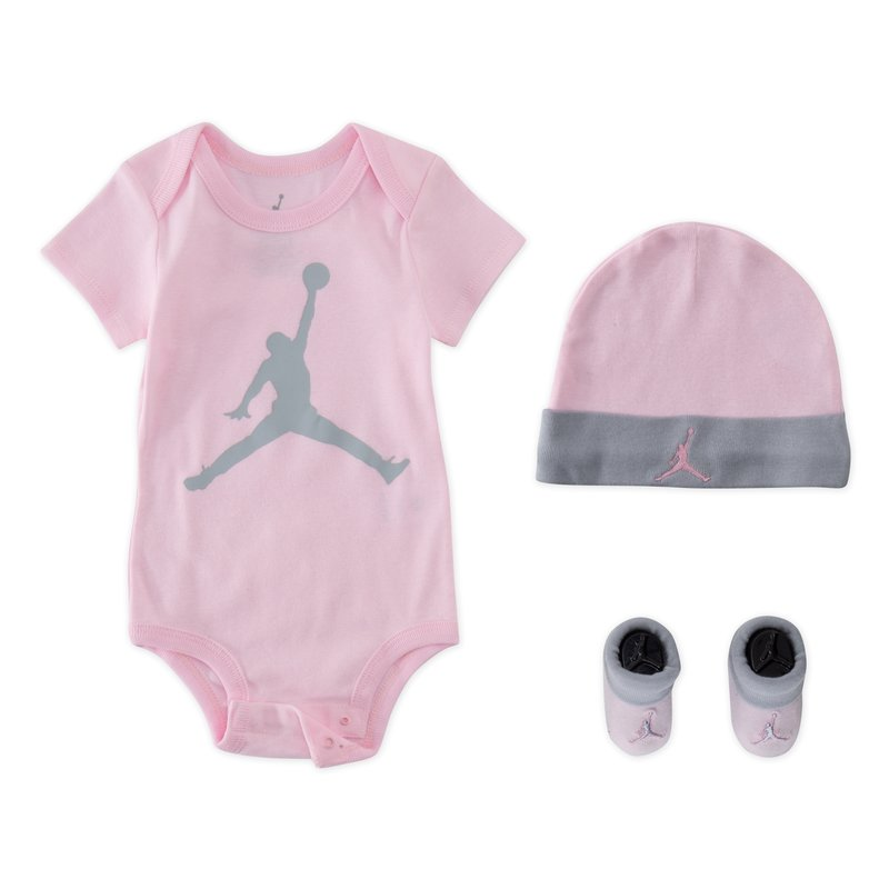 Air Jordan Air Jordan Infant 3 Piece Set 'Pink Foam' MJ0041 A9Y