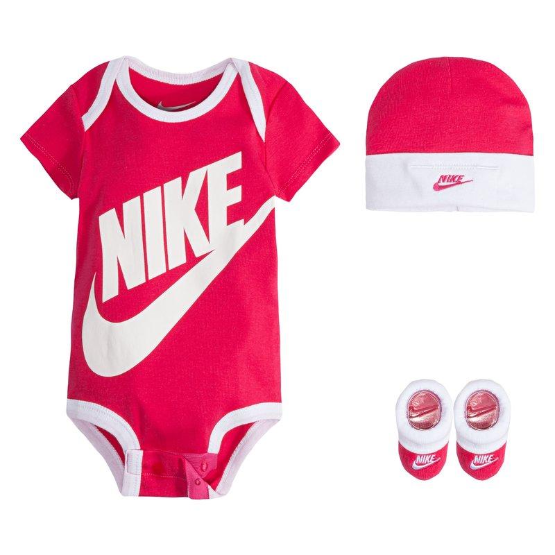 Nike Nike Infant Futura 3 Piece Set 'Rush Pink' MN0073 A4Y