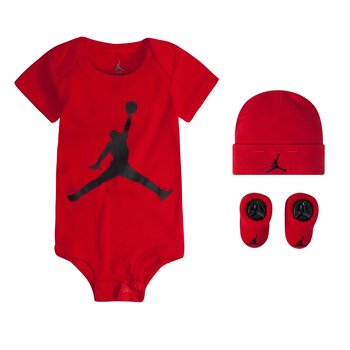 Air Jordan Air Jordan Infant 3 Piece Set 'Gym Red' MJ0041 R78