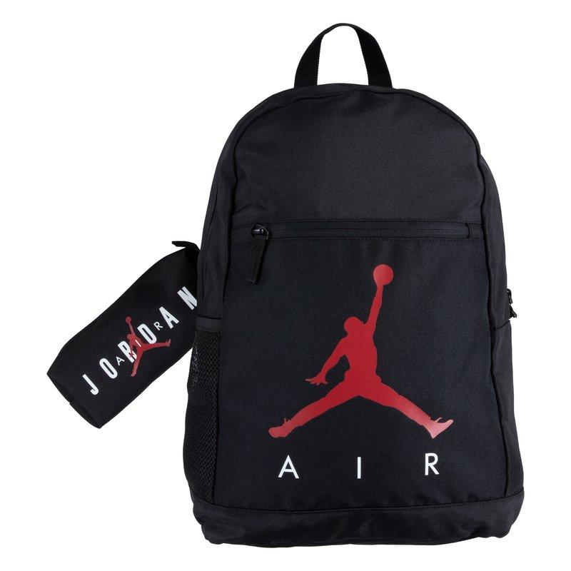 Air Jordan Air Jordan Kid's 2-Piece Backpack & Pencil Case Set 'Black' 9B0503 023