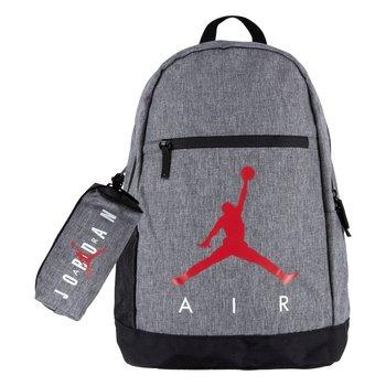 Air Jordan Air Jordan Kid's 2-Piece Backpack & Pencil Case Set 'Carbon Heather' 9B0503 GEH
