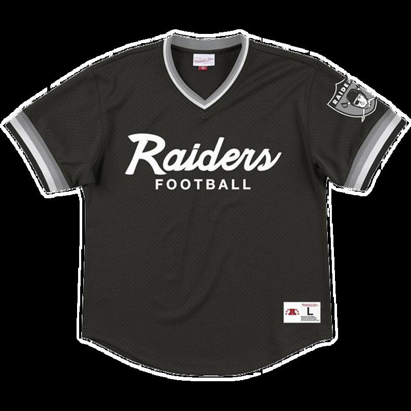 Mitchell & Ness Mitchell & Ness Top Prospect Mesh Jersey Oakland Raiders