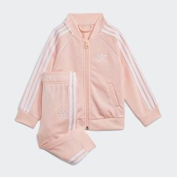 Adidas Adidas Kids Adicolor SST Tracksuit 'Haze Coral/White' H35574