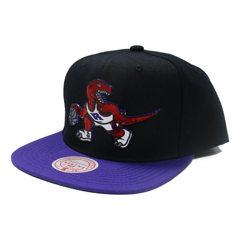 Mitchell & Ness Mitchell & Ness Toronto Raptors Embossed Logo Snapback