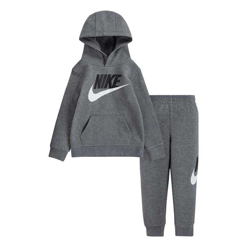 Nike Nike Kids PO Fleece Jogger Set 'Carbon Heather' 76H335 GEH