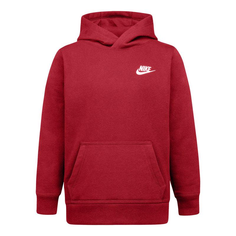 Nike Nike Kids Club Fleece PO Hoodie 'University Red' 86F322 U10