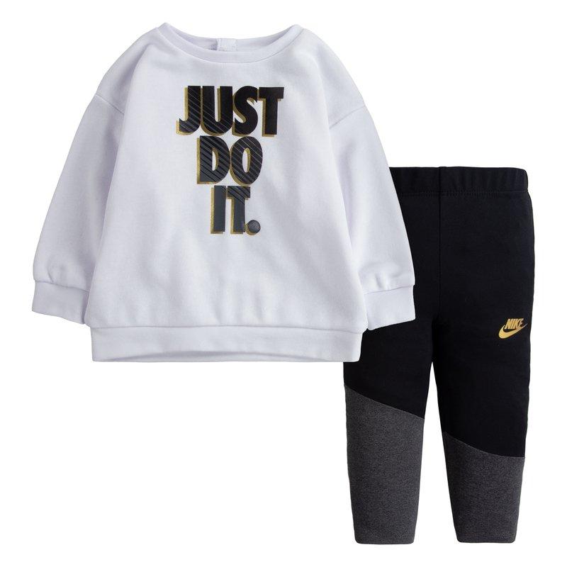 Nike Nike Little Girls Crew Legging Set 'Black' 16I115 023