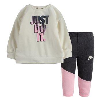 Nike Nike Little Girls Crew Legging Set 'Cream' 16I115 C81