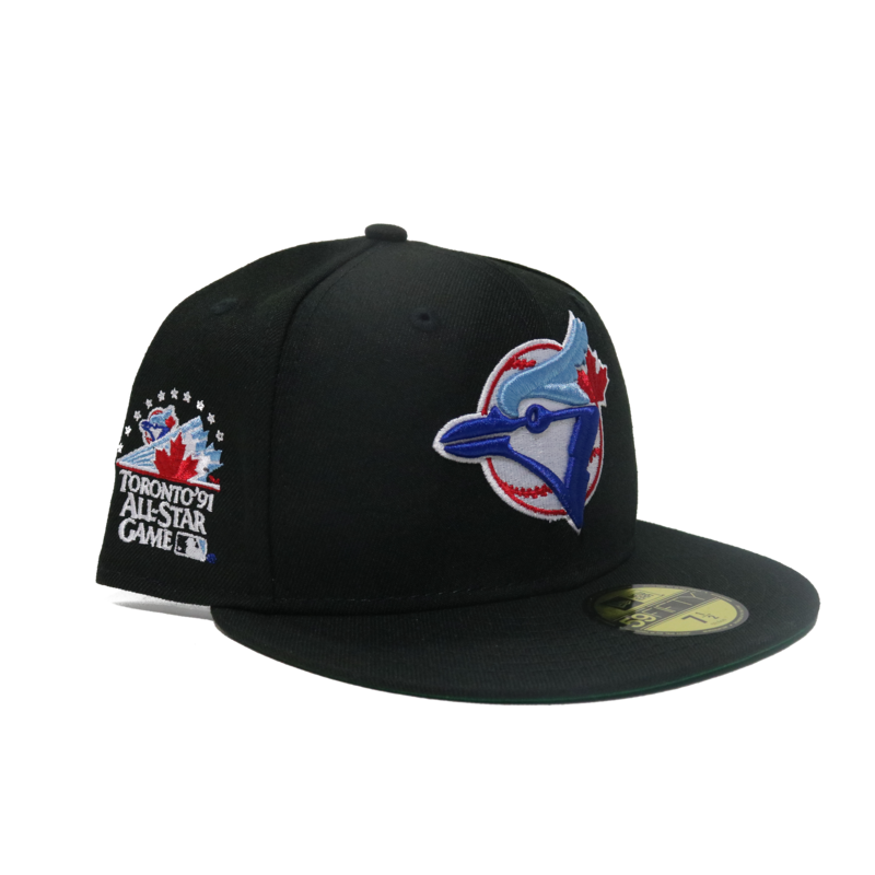 New Era New Era Toronto Blue Jays 91 All Star Game Side Patch Green Under brim Fitted