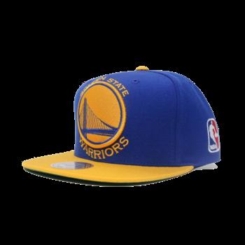Mitchell & Ness Mitchell & Ness Golden State Warriors 2 Tone Blue Yellow Snapback
