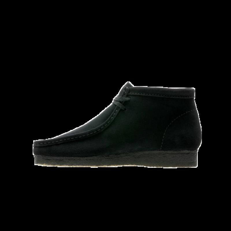 Clarks Men's Wallabee Boot 'Black Suede' 55517