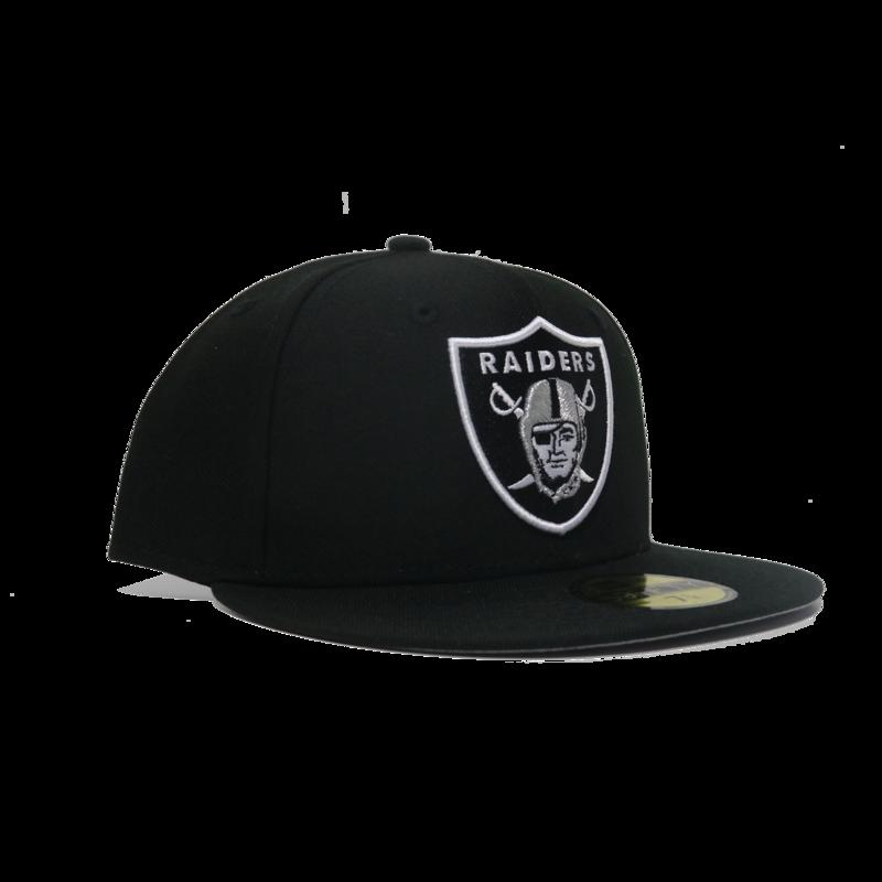 New Era New Era Raiders 59FIFTY Black/Silver Fitted
