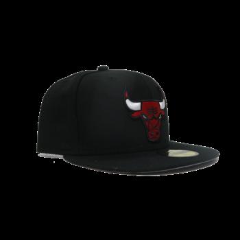 New Era New Era Bulls 59FIFTY Black/Grey Underbrim UV  Fitted