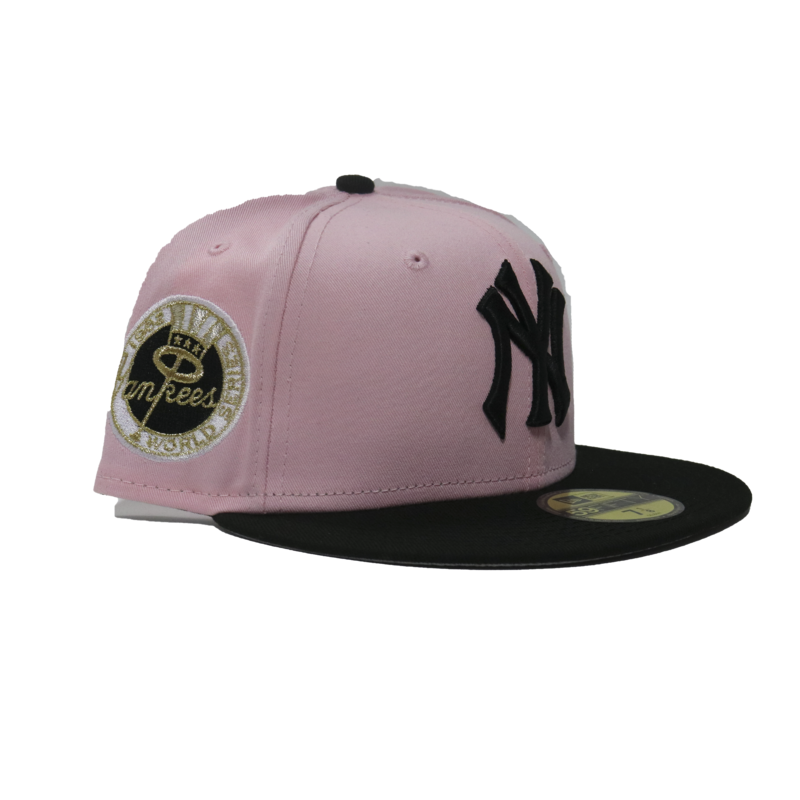 """New Era New Era New York Yankees """"Rose Gold Pack """"  59Fifty Fitted Patch"""