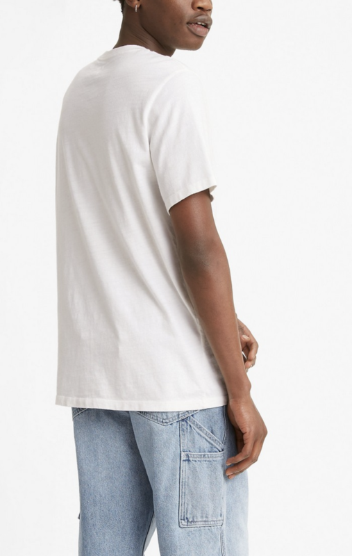 Levis Levis Men's Classic Relaxed Fit Pocket Tee White 3431000000