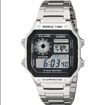 g-shock Casio G Shock AE1200WHD-1A SIlver Metal