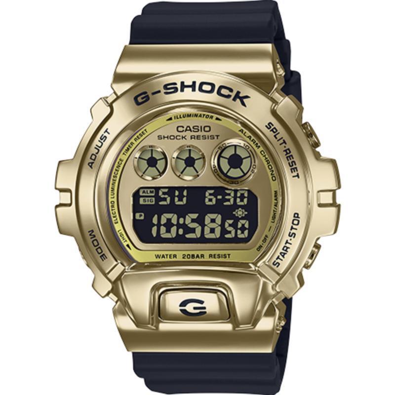g-shock G Shock GM6900G 9CR Gold Metal Bezel