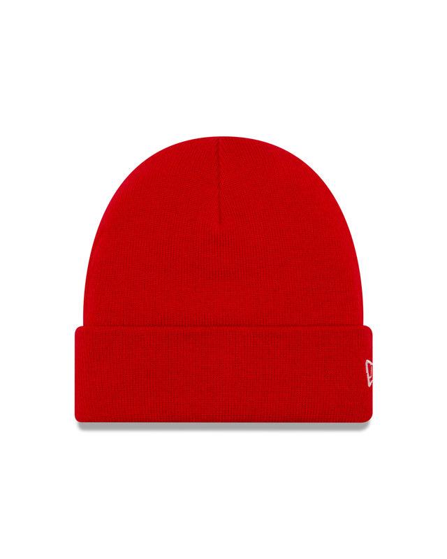 New Era Knit Cuff Beanie Red 12638436