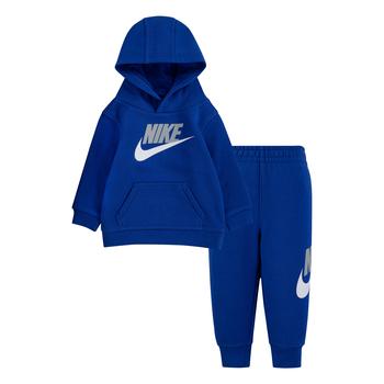 Nike Nike Kid's Fleece Pullover Jogger Set 'Game Royal' 66H335 U89