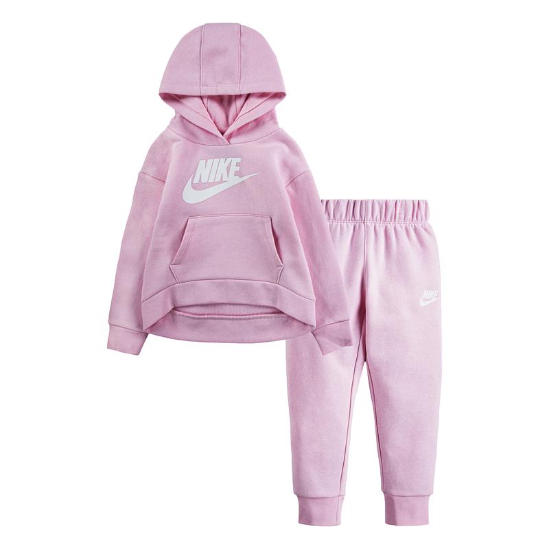 Nike Nike Kid's Club Fleece Set 'Pink Foam' 16I319 A9Y